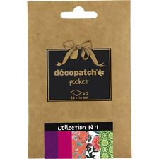 Decopatch Pocket Paper Collections 5 Pack Sheets Decoupage Decoration Papercraft