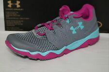UNDER ARMOUR W MICRO G OPTIMUM WOMEN'S RUNNING SHOE, GREY, SIZE 9.5, 1255125-001