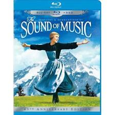 The Sound of Music(Blu-ray/DVD, 2010,3-Disc Set,45th Anniversary Edit. Like New!