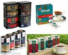 Dilmah Ceylon Premium Tea 25 - 100 Tea Bags, Watte Tea, Single State Tea & more