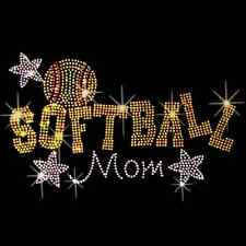 Softball Mom Women's T Shirt All Sizes Sports (R068)