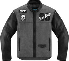 Icon 1000 Black Mens Vigilante Stickup Motorcycle Jacket