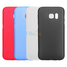 Ultra Slim Gel Silicon Matte Hard Case Skin Cover For Samsung Galaxy S7/S7 Edge