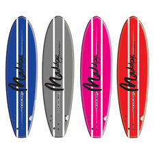 """MADDOG HAND SHAPED THRUSTER 5'5"""" SURFBOARD Blue, Grey or Pink"""