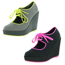 Volatile Clownin Women's Wedge Platform Maryjane Shoes US Sizes