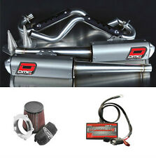 Raptor 700 DMC Force 4 Exhaust Package with PC5 EFI & Pro Design KN Intake