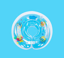 Children Baby Aids Infant Swimming Neck Float Ring Safety Adjustable Inflatable