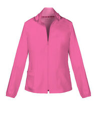 """Heartsoul Scrubs """"In Da Hood"""" Warm-Up Jacket 20310 PNKH Pink Party Free Shipping"""