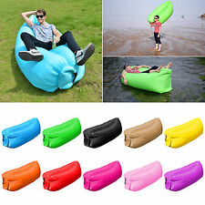 Air Sofa Bed Lounger Bag Outdoor Camping Beach Pool Lake Hangout Holiday Travel