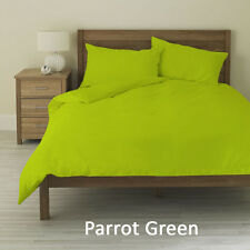 "Parrot Green 1000 TC,100% Egyptian Cotton 4 PC Sheet Set With 20""Deep Pocket"