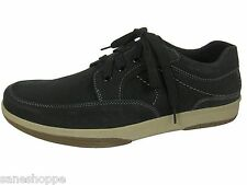 Mens LEATHER YACHTSMAN BY Seafarer Gents Boat Shoes Casual Summer Deck Shoes