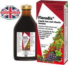 Floradix Liquid Iron and Vitamin Formula 500ml *BRAND NEW*