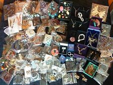 3.3 Kg Job Lot of Resale Costume Jewellery - 120 Items - necklaces earrings etc