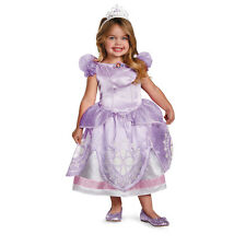 Sofia The First Deluxe Disney Princess Girls and Toddler Costume by Disguise