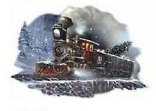 Christmas Train Winter Train  Sweatshirt   Sizes/Colors