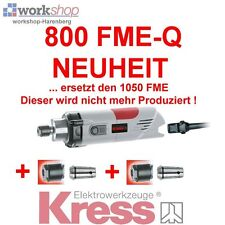 KRESS 800 FME-Q Milling motor with 3 Collets Nuts ideal for CNC replaces the