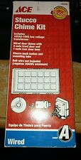 """LOT OF (3) Stucco Chime Kits """"Wired"""" by ACE """"NIB"""""""