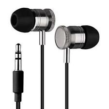 New Universal Super Bass Headphone 3.5mm In-ear Earphone Metal Headset With Mic