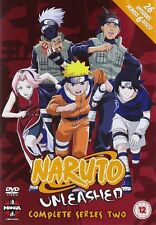 Naruto Unleashed Complete Series 2 Collection DVD New & Sealed ANIME Reg 2 Manga