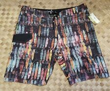 Local Motion Surf City Ombre Mens Board Shorts