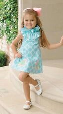 Mud Pie Baby Toddler Girl Easter Spring (Summer) Blue Little Chick Dress 1142101