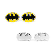 SuperHero DC Batman Men's Cufflinks Wedding Groom Shirt Cuff Links Gifts Cosplay