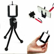 Mini Octopus Flexible Tripod Stand+Cell Phone Clip Bracket Holder IPhone 4 4S 5S