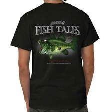 Large Mouth Zombie Bass Fish Sporting Goods Fishing Gear Funny T Shirt Tee