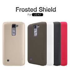 Nillkin Super Frosted Matte Hard Case Back Cover LCD Guard For LG K7