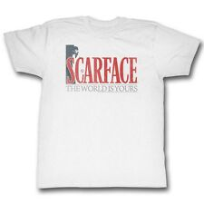 Scarface T-Shirt Big Letters White T-Shirt