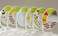 Animals boy #c180 Baby Closet Dividers Clothes Organizers 6