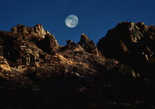 Art print POSTER Full Moon Over the Himalayas