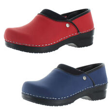 Sanita Ryland Women's Professional Leather Clogs Shoes Size 5.5-6 US 36