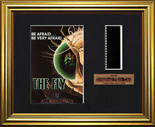 THE FLY    Jeff Goldblum - Geena Davis    FRAMED MOVIE FILMCELLS