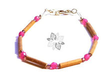 Hazelwood Therapeutic Rose Quartz - Gemstone (Bracelet or Anklet) #