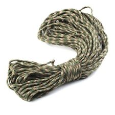 New 550 Paracord Parachute Cord Lanyard Mil Spec Type III 7 Strand Core100FT DP