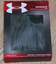 "UNDER ARMOUR UA ORIGINAL BOXERJOCK 6"" BOXER BRIEF, 1237812 014, NIB"