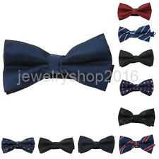 Many Style Mens Adjustable Pre Tied Wedding Party Necktie Bow Ties Formal Tuxedo