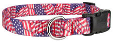 25 - Country Brook Design® Deluxe Dog Collars - American Pride Collection