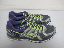 New Womens Asics Gel Kayano 21 Running Athletic Shoes T4H7N GrayPurpleVolt 18A