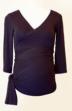 Picchu Maternity Wrap Top, Avail in 4 colours and all sizes, RRP £45