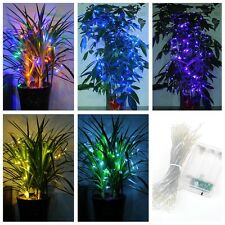 40LED Battery Operated Fairy String Lights Party Wedding Xmas Home Decorations