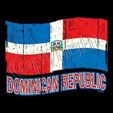 Dominican Republic Flag T-Shirt  All Sizes And Colors (567)
