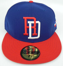 DOMINICAN REPUBLIC WORLD BASEBALL CLASSIC WBC FITTED NEW ERA 59FIFTY CAP HAT NWT