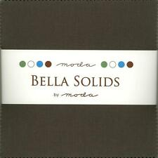 Bella Solids Lead Charm Pack by Moda, 42 5-inch Precut Fabric Squares 9900PP-283