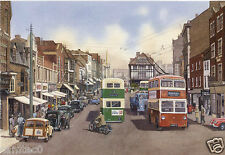 MAIDSTONE HIGH STREET KENT 1959 POSTCARD