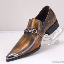 XL160 Clevis Fashion Dress Shoe Loafer Taupe