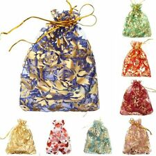 10x12cm Gauze Organza Gift Bag Jewelry Packing Pouch Wedding Favor Gift Bags