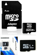 NEW~~ 32GB Memory Micro SD Card TF Flash Class 10 Free Adapter For Smart Phones