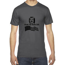 MENS HILLARY FOR PRISON 2016 FUNNY POLITICAL AMERICAN APPAREL T SHIRT TEE